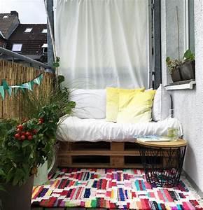Kleinen Balkon Gestalten Wohnkonfetti
