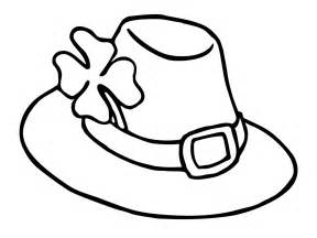 leprechaun hat coloring pages st 39 s day