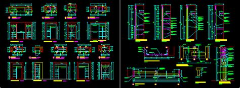 closet details and dimensions 2d dwg detail for autocad designs cad