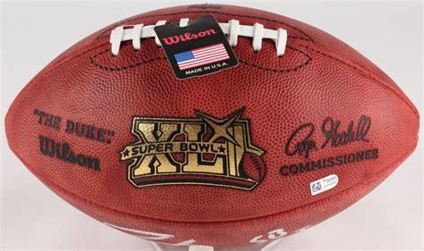 Peyton Manning Signed Super Bowl Xli Nfl Official Game