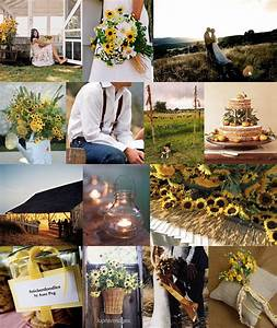 blog archivesunflower themed wedding With country wedding ideas for summer