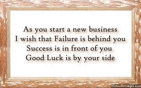good luck for new business quotes