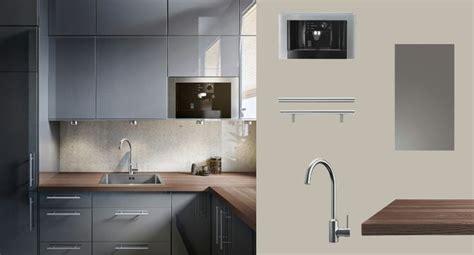 ikea cuisine abstrakt blanc faktum cuisine avec abstrakt portes tiroirs brillant gris