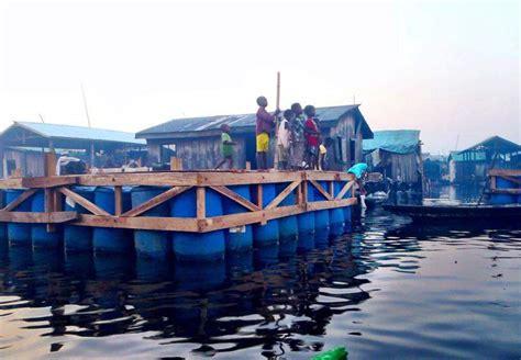 makoko floating school  lagosa nigeria africa
