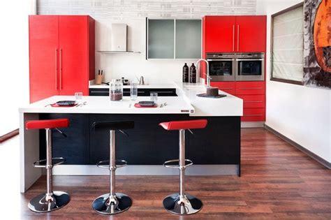 mas de  fotos  ideas de cocinas rojas espaciohogarcom