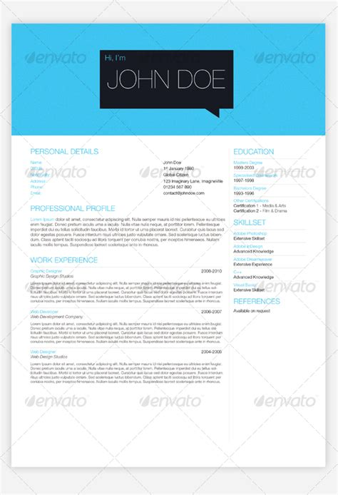 graphicriver clean resume templates torrents 187 maydesk