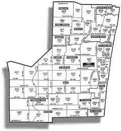 Fort Lauderdale Zip Code Map