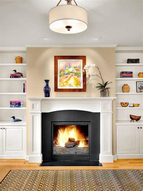 decor around fireplace decorating around a fireplace paperblog