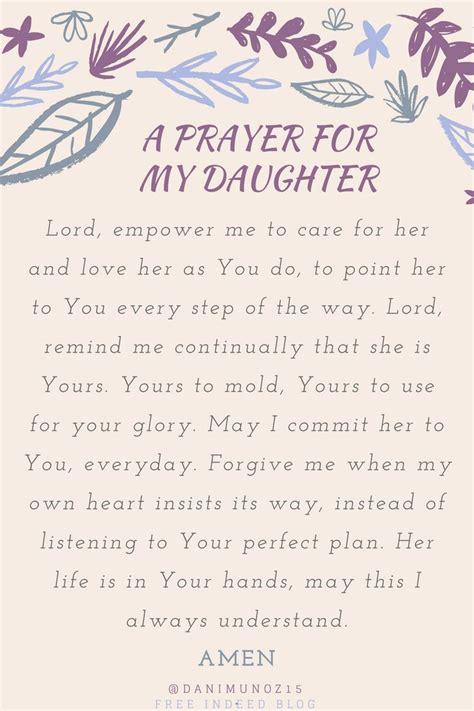 lifetime prayer   daughter prayer  daughter