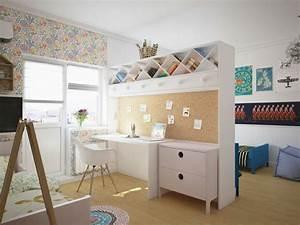Meuble Pour Chambre : chambre design d 39 enfant 25 photos originales ~ Teatrodelosmanantiales.com Idées de Décoration