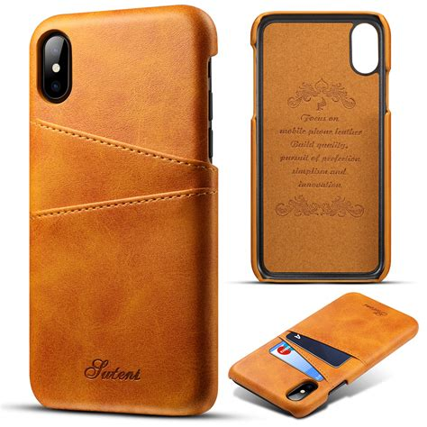Your information lives on your iphone, beautifully laid out and easy to understand. Credit Card Holder Leather Slim Shockproof Case Back Cover ...