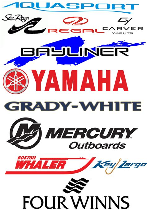 Boat Logos Lettering by Replacing Your Boat Manufacturers Brand Logos And