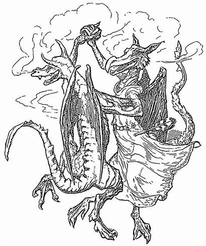 Dragon Coloring Pages Adults Dragons Adult Realistic