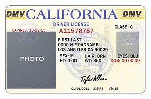 10 california drivers id template psd images california for California id template download