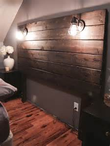 Cedar Lamp by Build A Rustic Wooden Headboard Live Your Goals
