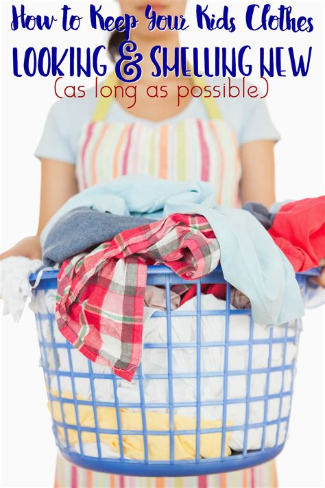 How To Keep Your Kids Clothes Looking And Smelling New