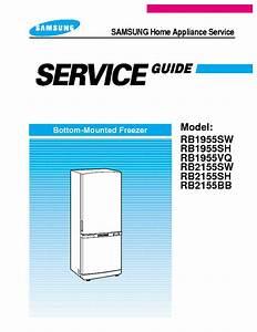 Refrigerator Service Manual Samsung