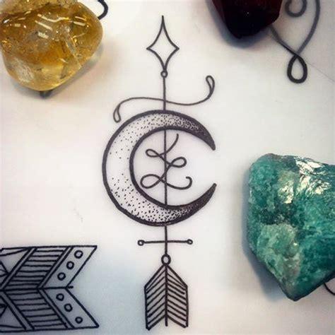 crescent moon arrow   tattoo hit    tattoos