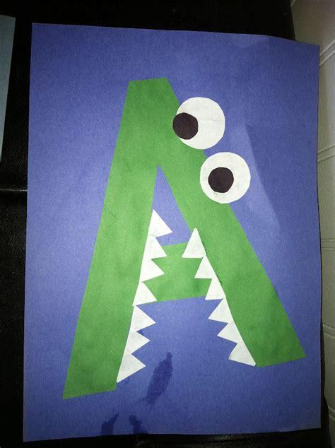 miss maren s monkeys preschool alligator template 712 | IMG 2146