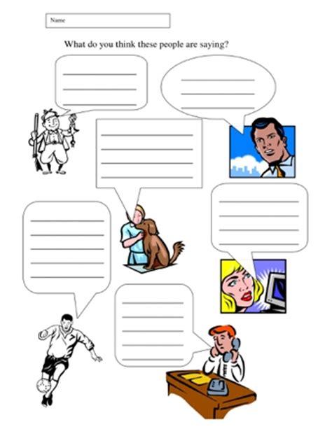 speech marks worksheets teaching ideas