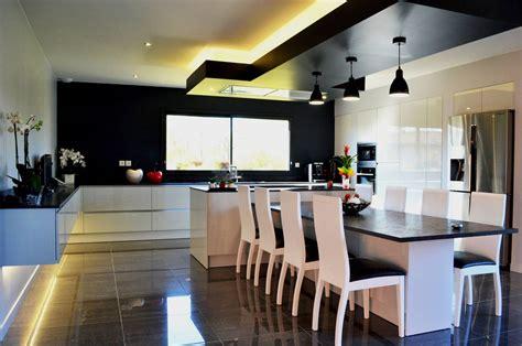 cuisine design avec ilot central cuisine design avec 238 lot central et coin repas install 233 224
