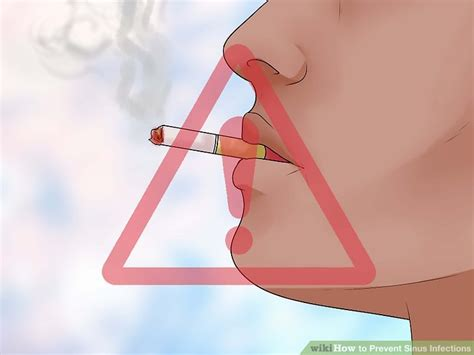 prevent sinus infections  steps  pictures