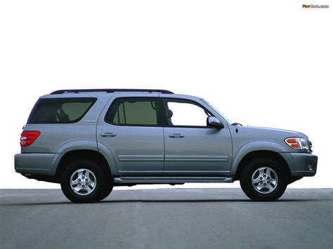 Pictures Of Toyota Sequoia Limited 2000–05 (1280x960