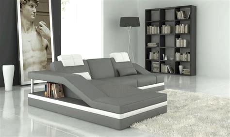 canapé d angle gris et blanc canapé d 39 angle gris et blanc mundu fr