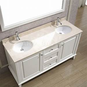 Antique bathroom vanities classic style white bathroom for Classic vanities bathrooms