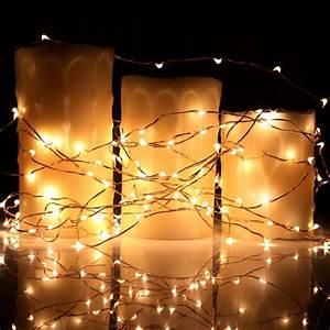 Kohree, 8, Pack, Led, String, Lights, Copper, Wire, Lights, Battery, Operated, S, U2013, Kohree