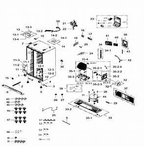 Cabinet Diagram  U0026 Parts List For Model Rs265tdrsxaa0002