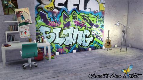 graffiti walls  annetts sims  welt sims  updates