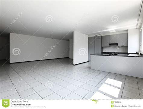 vid cuisine appartement neuf cuisine vide image stock image 19464161