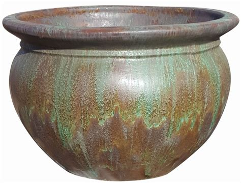 Mexican Pot by Mexican Glazed Mexican Roma Pot Moss Terracotta Pots