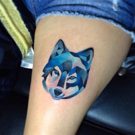 grey ink geometric tattoos  cassady bell