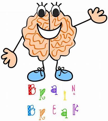 Clipart Brainy Brain Clip Breaks Break Classroom