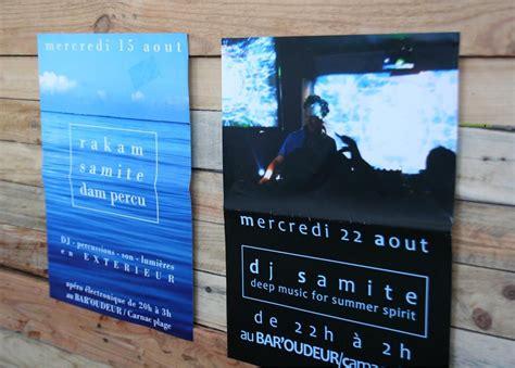flyer   couche demi mat print avec images
