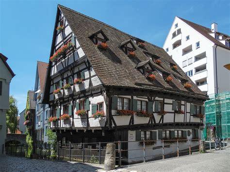 Das Schiefe Haus, Ulm Fischerviertel  Besuch Des Ulmer