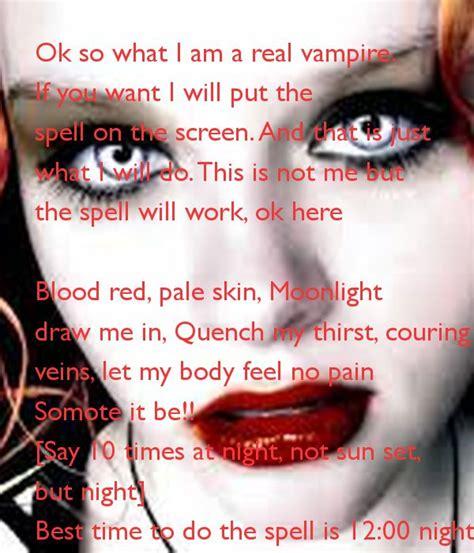 25+ Best Ideas About Vampire Spells On Pinterest