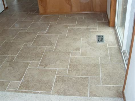 Tile Floor Layout by Eclectic Tile Designs