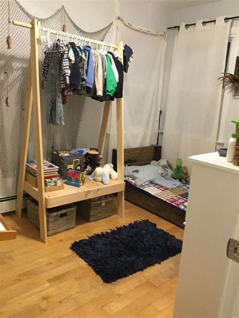 build  easy clothing rack woodworking projects