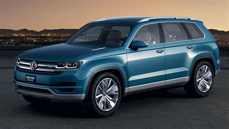 volkswagen suv 2014 volkswagen to build 7 seater crossblue suv in usa