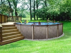 Round Above Ground Swimming Pool
