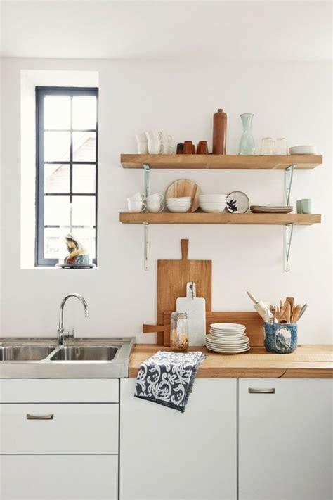 idee deco cuisine idée décoration cuisine avec rangements ouverts