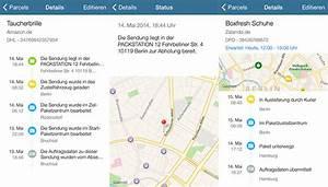 Live Tracking Paket : parceltrack erste app zur paketverfolgung mit live tracking iphone ~ Markanthonyermac.com Haus und Dekorationen