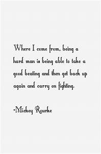 Mickey Rourke Quotes & Sayings