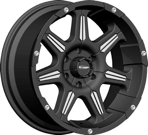 pro comp wheels and tires 8151 2973 pro comp series 51 district wheel in black machined with