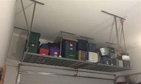 New Age Overhead Storage Rack by Garage Shelving Racks Ideas Photos Midlands Storage