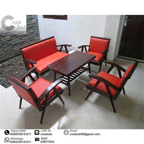 jual kursi bayi murah set kursi tamu jengki jati createak furniture createak