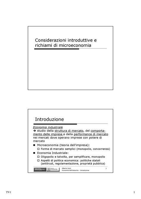 Dispense Microeconomia by Relazioni Verticali Dispense